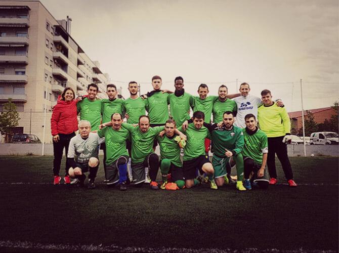 UEBalafia B futbol inclusiu