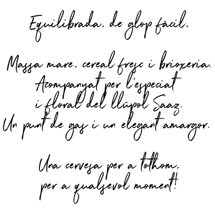 Nota de cata Bohemian Pilsner brebel