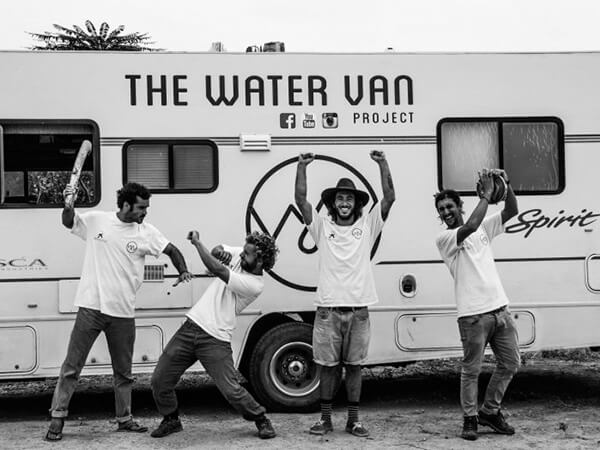 The Water Van Project fundadors