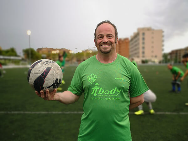 UEBalafia B futbol inclusiu Pedro
