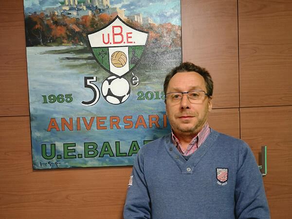 UEBalafia B futbol inclusiu president Francisco