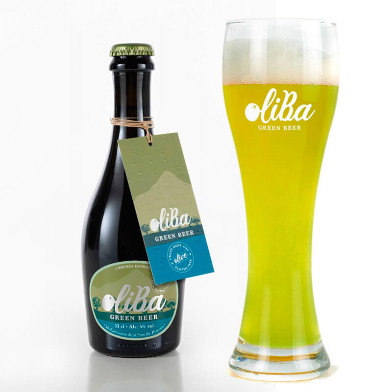 Caixa 12u Oliba Green Beer