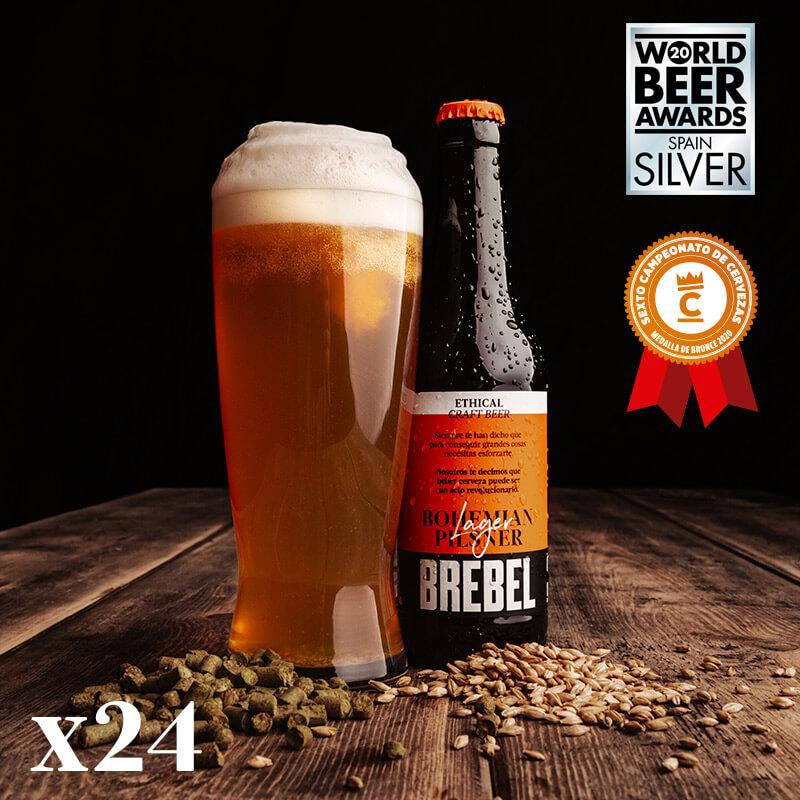 Cervesa Artesana Gluten Free BREBEL