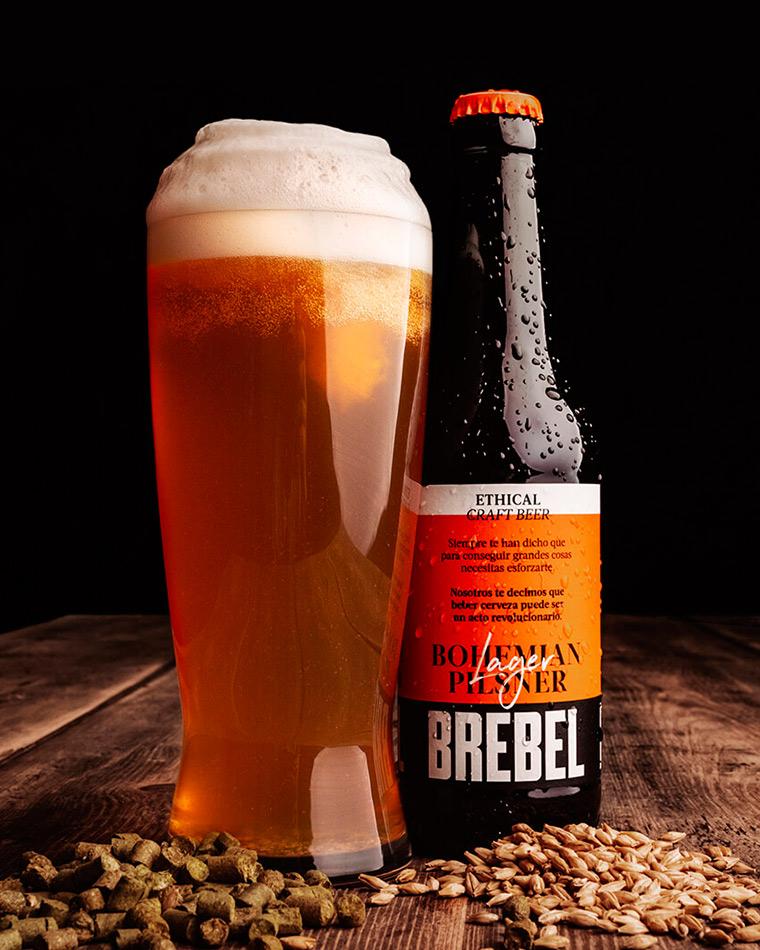 Cerveza artesana Bohemian Pilsner Brebel