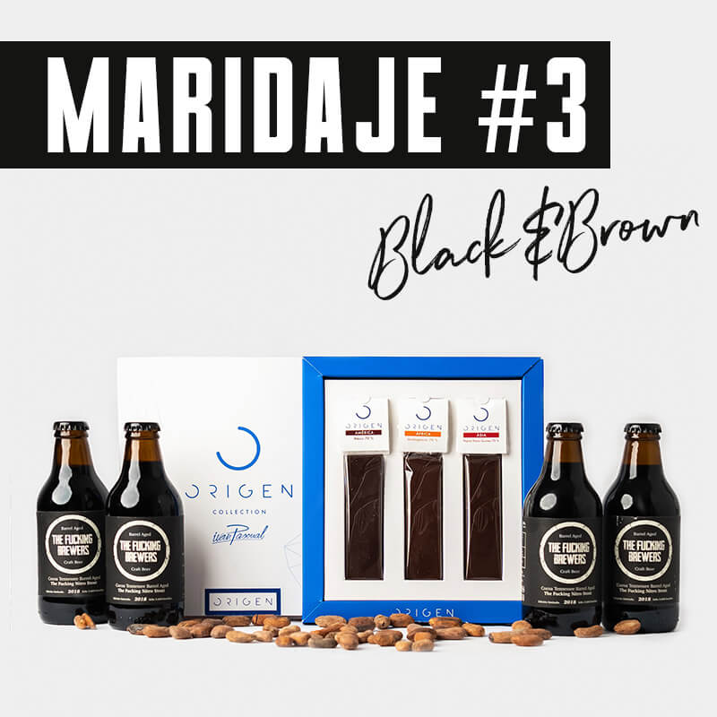 Maridaje #3 Black&Brown
