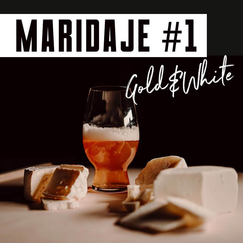 Maridatge #1 Gold&White